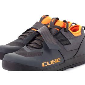 Cube GTY Strix Sko, grey'n'orange